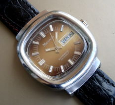 Swiss MONVIS automatic – Men's wrist watch – From the 1970s