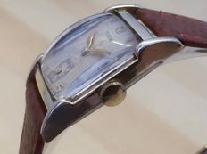 "Elgin 10 KGP ""Art Déco"" Mens watch from 1950's"