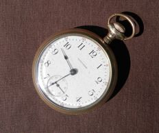 Beautiful Old Waltham Gold plated Pocket Watch from 1910