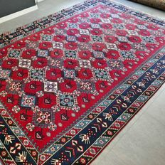Splendid, XL, Kazak carpet - 355 x 265 cm - unique appearance.
