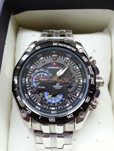 Casio Edifice EF-550RBSP-1AVER Red Bull Racing Limited Edition - Herenpolshorloge