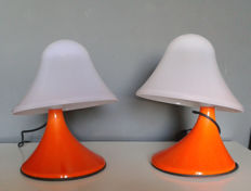 "Art Plex - pair of table lamps, ""Giada"" model"