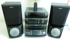 Sony LBT-XB60 Hifi-set + speakers 200 watts
