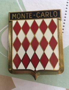 "Radiator Badge ""Monte Carlo"""