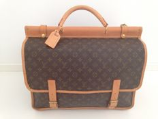 Louis Vuitton - Sac Kleber monogram hunting bag