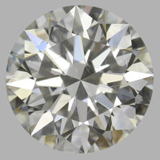 0.50ct Round Brilliant Diamond J SI2 IGI - SEALED - Serial#1870