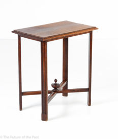 Side table or hallway table, maker unknown, ca. 1910, Belgium