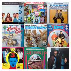 From the (late) sixties and seventies: Lot of 9 Great Classic (double) albums (10records)