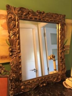 Baroque-style mirror, 20th century