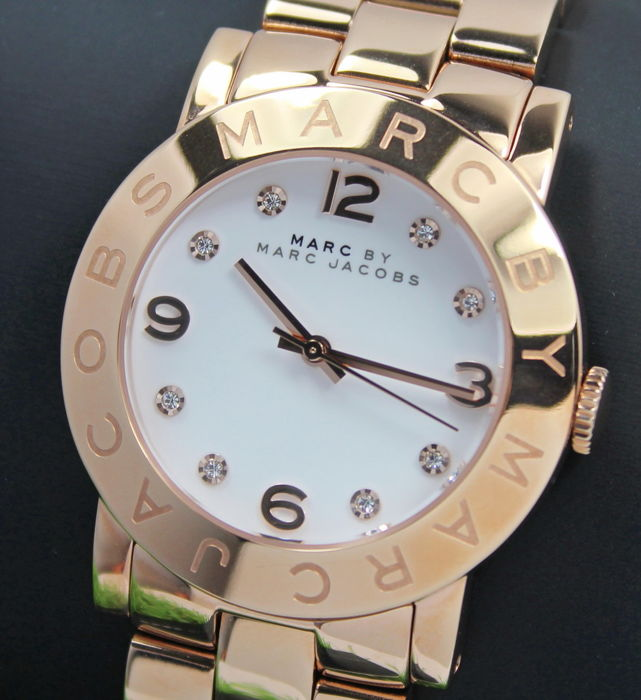 e503c0df16 Marc by Marc Jacobs – Ladies MBM3077 - Rose Gold Plated Designer Watch –  Unworn - Catawiki