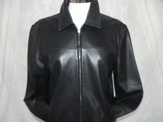 Charles Jourdan Paris leather jacket size DE 42