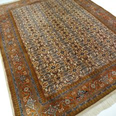 "Indo Bidjar Herati – 285 x 200 cm – ""Modern carpet in natural shades – Beautiful condition"""