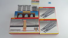 Hornby 00 - amongst others -R180/R8008 A Scenery package with bridges and bridge-sections