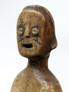 Old African twin figure - EWE - Togo