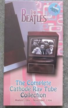 "The Beatles   ""The Complete Cathode Ray Tube Collection""  BOX 4 DVD"