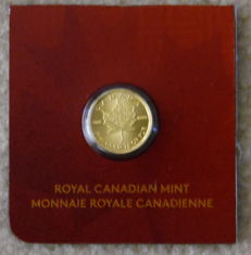 Canada – 50 Cents 2016 'Maple Leaf' – 1 g gold