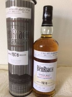 Benriach 1978 - 30 years old - one of 187 - OB