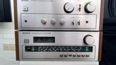 Sony TA 1630 amplifier and ST 2950F tuner