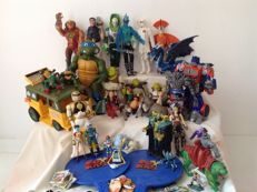 Collection of Kids TV series / movie action figures - from the 80s, 90s and 21 century