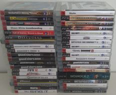 39 Playstation 3 (PS3) game collection - With manuals.