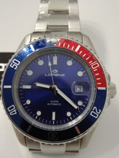 Lorenz automatic wristwatch – Submarine model – In new condition, never used.