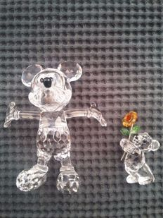 Swarovski - Mickey Mouse and Kriss bear