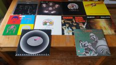 Queen , lot of 10 early records