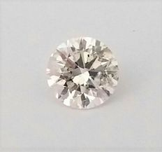 Loose Round Brilliant Cut Diamond 0.81 Carat - E color - SI1 clarity - IGL certifird - Laser Inscripted - Original Image
