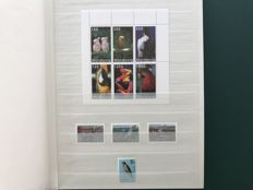 Theme birds – collection in insertion book.