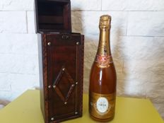 1974 Cristal Louis Roederer - 1 bottle (75cl) and wood box