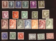 Liberia, Dahomey and Netherlands Colonies 1870/1978 - A small collection