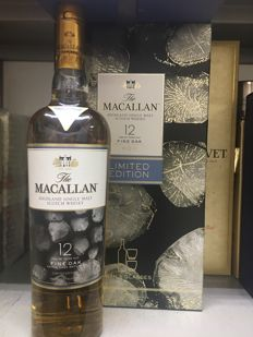 Macallan Fine Oak 12 Years Old Limited Edition - with 2 glasses
