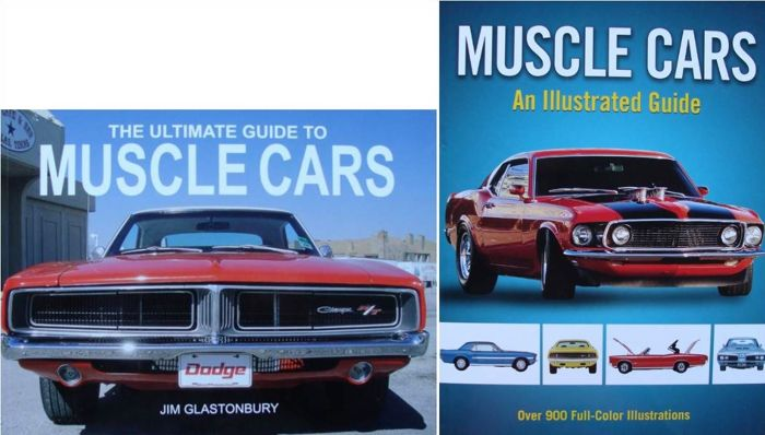 2 Great Books on the Muscle Cars