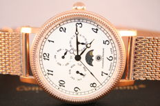 "Constantin Durmont San Juan ""Rose gold White"" -- Men's wristwatch"