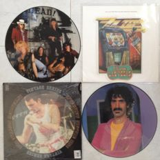 ZZ Top - Guns'n roses - Queen - Frank Zappa Picture discs in pristine(unplayed) condition.