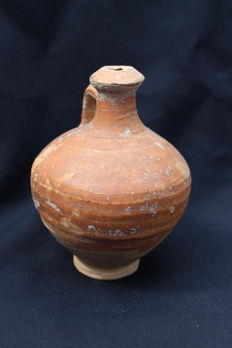 Roman storage jar, ceramic - 14.1 x 10.5cm