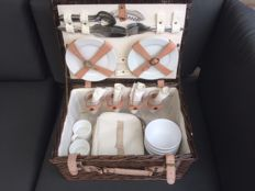 Original reed picnic basket