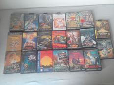 20 sega mega drive games - 16 cib 4 with out book