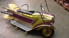 Space bike kiddie ride - circa 1955 - Leenaerts