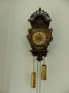 Frisian stool clock - Period 1930