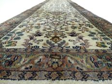 "Sarough – 271 x 72 cm – ""Light Oriantal runner - Clean carpet in beautiful, virtually unused condition"""
