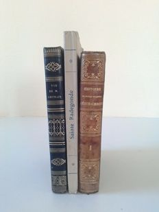 Lot of 3 books on religion - 1834/1930