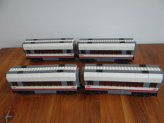 Trains RC - 60051 - 4x High-speed Passenger Train Center Wagons