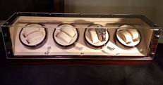 Luxurious, exclusive Watchwinder Rothenschild Bergamo XL for 8 automatic watches - no reserve