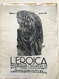 L'Eroica Issue 91 year 1925 of the collection Fondo Ettore Cozzani