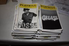 Playbill Booklets - 100 pieces - Since 1996 until 2014.