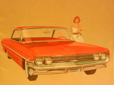 OLDSMOBILE Brochures. Years 60 and 70.16 pieces. And Oldsmobile photo/pictures/advertentisement archive.