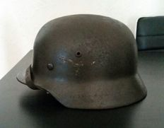 German helmet M40 from the Luftwaffe