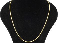 18k Gold. Wheat Chain. Length 55 cm.