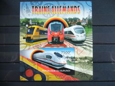 Trains – Theme collection in stock book